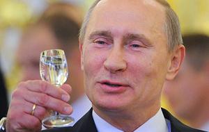 7 октября исполнилось 60 лет президенту России Владимиру Владимировичу Путину.