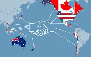 Преференциальное торговое соглашение между 12-ю странами Азиатско-Тихоокеанского региона, целью которого является снижение тарифных барьеров, а также регулирование внутренних правил в странах-участницах в таких областях как трудовое право, экология, интеллектуальная собственность и ряде других. Соглашение о создании Транстихоокеанского партнёрства было подписано 4 февраля 2016 года в Окленде, Новая Зеландия