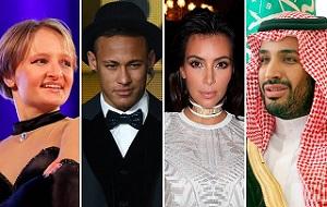 Британский The Guardian составил список самых влиятельных миллениалов — представителей поколения, родившегося после 1981 года. Всего в список самых влиятельных представителей поколения 20-35-летних британский The Guardian включил 10 имен. Среди них пять мужчин и пять женщин, представители различных стран и сфер деятельности.