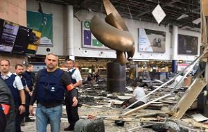 В столице Бельгии 22 марта 2016 года произошла серия терактов. Несколько взрывов произведены в аэропорту «Завентем» и на станции метро «Маальбек». Сообщается, два взрыва произошло в аэропорту в зале вылетов у стойки American Airlines, а позже еще один взрыв прогремел на станции метро возле институтов Евросоюза. В результате терактов в Брюсселе есть погибшие и раненые.