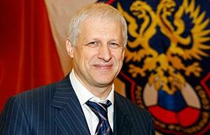 Российский менеджер и продюсер, член исполкома УЕФА, бывший президент Российского футбольного союза