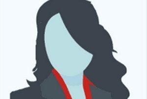 Businesswoman icon as avatar