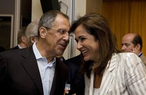 Долгое время работала в библиотеке Постоянного представительства РФ при ООН в Нью-Йорке и посещала «Женский клуб» для жен дипломатов. В настоящее время является пенсионеркой и занимается ведением домашнего хозяйства.
