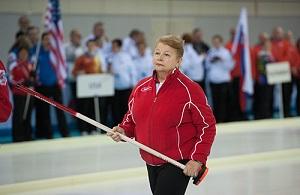 Пенсионер-общественник. Член попечительского совета Федерации керлинга России