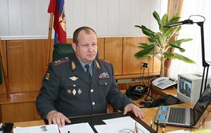 Начальник УМВД РФ по Воронежской области