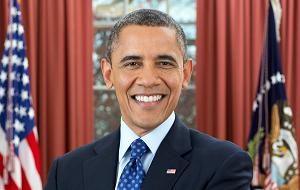 Действующий (с 20 января 2009 года) 44-й президент Соединённых Штатов Америки. Лауреат Нобелевской премии мира 2009 года. До избрания президентом являлся федеральным сенатором от штата Иллинойс. Переизбран на второй президентский срок в 2012 году