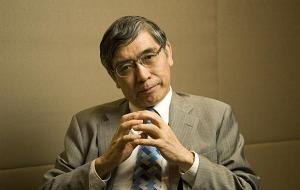 Японский банкир, в настоящее время 31-й управляющий национального Банка Японии. В прошлом, с 1 февраля 2005 года по 18 марта 2013 года, он занимал должность президента Азиатского банка развития и был специальным советником кабинета министров Японии