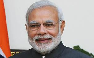 Индийский политический и государственный деятель, главный министр штата Гуджарат с 7 октября 2001 года, лидер Бхаратия джаната парти. Премьер-министр Индии с 26 мая 2014 года