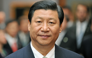 Китайский государственный и политический деятель, Председатель Китайской Народной Республики с 14 марта 2013 года, Генеральный секретарь ЦК Коммунистической партии Китая с 15 ноября 2012 года, председатель Центрального военного совета (КПК с 15.11.2012, КНР с 14.03.2013)