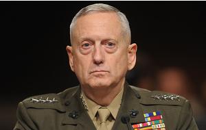 Новый глава Пентагона администрации избранного президента США Дональда Трампа, генерал Корпуса морской пехоты США, бывший командующий Межвидового командования вооружённых сил США с 9 ноября 2007 года до 2010 года. С 9 ноября 2007 по 8 сентября 2009 года — по совместительству Верховный главнокомандующий ОВС НАТО по трансформации (ВГКТ). До этого командовал 1-м экспедиционным корпусом морской пехоты США, служил командующим Центрального командования ВМС США и 1-й дивизией корпуса морской пехоты США в течение войны в Ираке