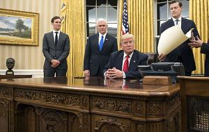 Лица входящие в кабинет в администрации 45-го президента США Дональда Трампа, вступившего в должность 20 января 2017 года