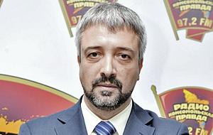 Российский журналист, теле- и радиоведущий, историк.