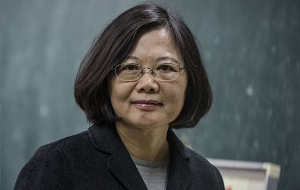 Тайваньский политик, Президент Китайской Республики (Тайвань) с 20 мая 2016 года