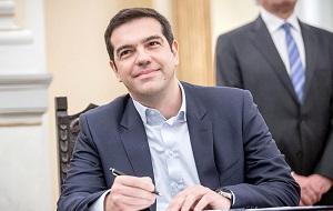 Левый греческий политик, председатель партии «Синаспизмос» и лидер коалиции радикальных левых (СИРИЗА). С 26 января 2015 года по настоящее время (с месячным перерывом) премьер-министр Греции, с 20 августа 2015 года по 27 августа 2015 года исполняющий обязанности
