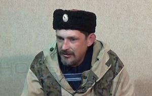 Командир 1-го полка Казачьей Национальной Гвардии