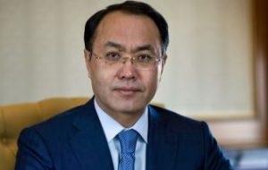Генеральный прокурор Республики Казахстан. БывшийПредседатель Агентства по делам государственной службы и противодействию коррупции Республики Казахстан