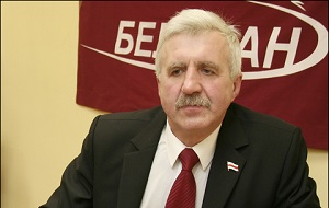 Белорусский политический деятель, глава Могилёвской областной Коалиции демократических сил.