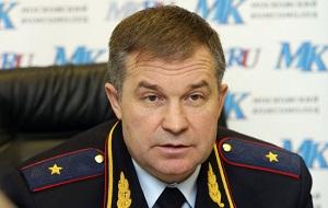 Начальник Управления ГИБДД ГУ МВД РФ по Московской области