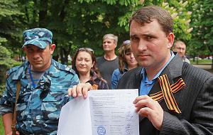 Глава Избиркома «Луганской народной республики»