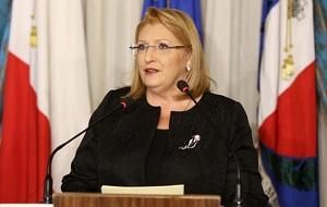 Мальтийский политик-лейбористка, президент Мальты с 4 апреля 2014 года