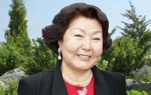 Супруга первого президента Казахстана Нурсултана Назарбаева.