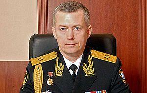 Российский военный деятель, вице-адмирал Военно-Морского Флота России. Временно исполняющий обязанности командующего Балтийским флотом ВМФ России с 30 июня 2016 года.