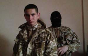 Лидера молодежного крыла организации «Луганская Гвардия»