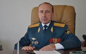 Начальник ГУ МЧС России по РСО-А. Генерал-майор внутренней службы