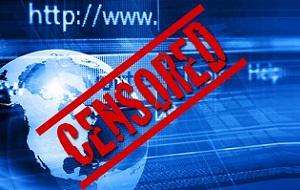 Контроль и пресечение публикации или доступа к информации в сети Интернет. Своим появлением интернет-цензура обязана отсутствию каких-либо национальных границ в сети Интернет. Общую проблематику интернет-цензуры можно определить следующим образом: информация, перечащая законам государства (режиму действующего правительства) и заблокированная на внутренних ресурсах, может быть опубликована на веб-серверах в других странах.