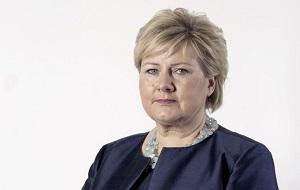 Норвежский государственный и политический деятель. С 2004 года лидер Консервативной партии Норвегии. Премьер-министр Норвегии с 16 октября 2013 года