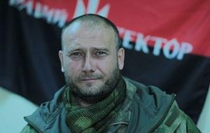 Украинский общественно-политический деятель националистического толка, лидер «Правого сектора» в 2013—2015 годах, руководитель украинской праворадикальной националистической организации «Тризуб»