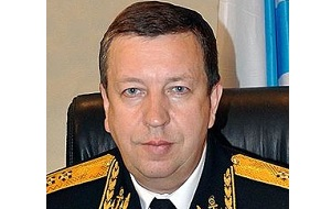 Командующий «Черноморским флотом России», вице-адмирал