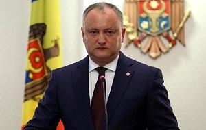 Молдавский государственный и политический деятель, Президент Республики Молдова с 23 декабря 2016 года.