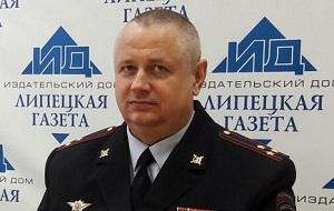 Начальник управления Федеральной службы войск национальной гвардии РФ по Липецкой области, полковник полиции