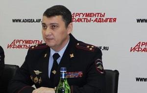 Начальник управления Федеральной службы войск национальной гвардии РФ поРеспублике Адыгея
