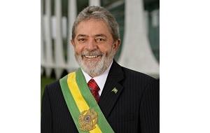 Бразильский политик, президент Бразилии с 1 января 2003 года по 1 января 2011 года. Со времён участия в профсоюзном движении известен более не по фамилии, а по прозвищу «Лула», которое является уменьшительной формой от имени Луис