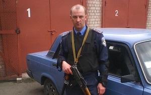 Бывший сотрудник народной милиции Луганской народной республики (ЛНР)