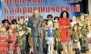 Сабина Цветкова на конкурсе детской патриотической песни